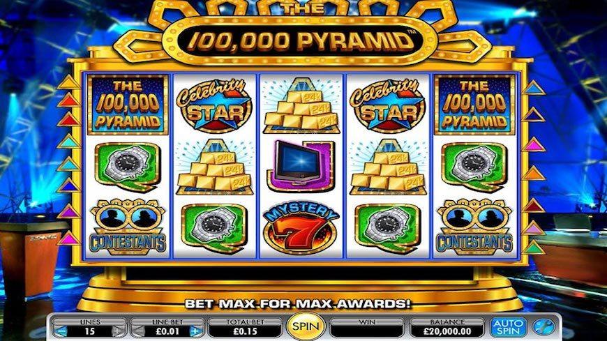 100000 Pyramid Slot