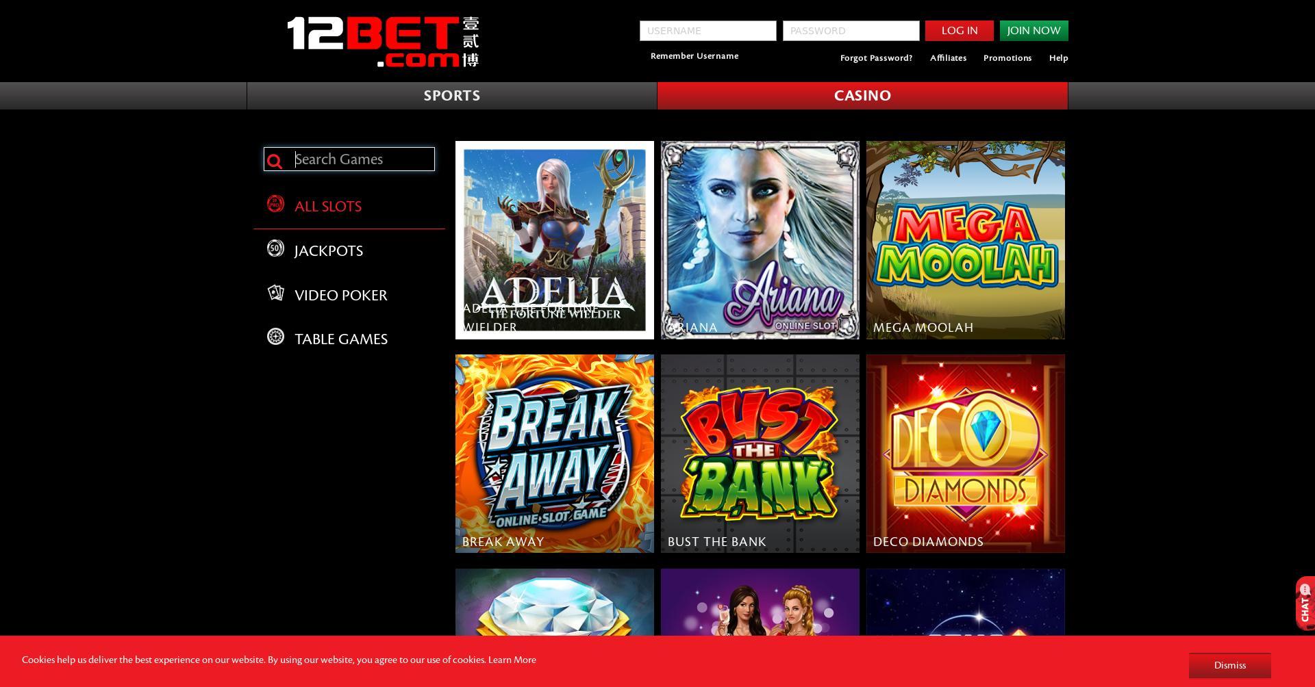 12Bet.com Casino