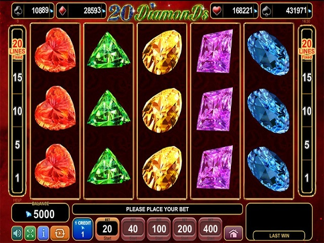 20 Diamonds Slot