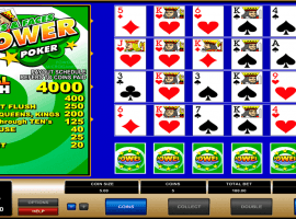 Aces Faces Power Poker Slot
