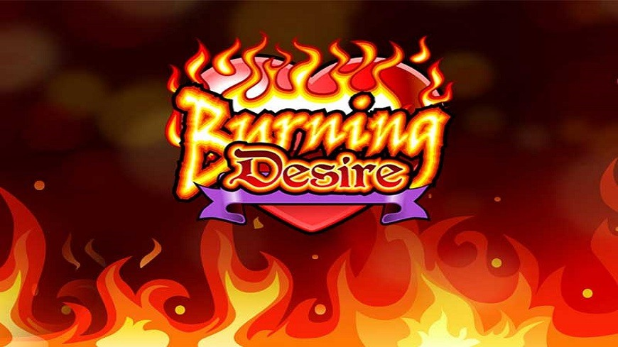 Slot machine burning desire