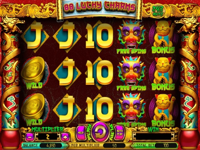 88 Lucky Charms Slot Machine