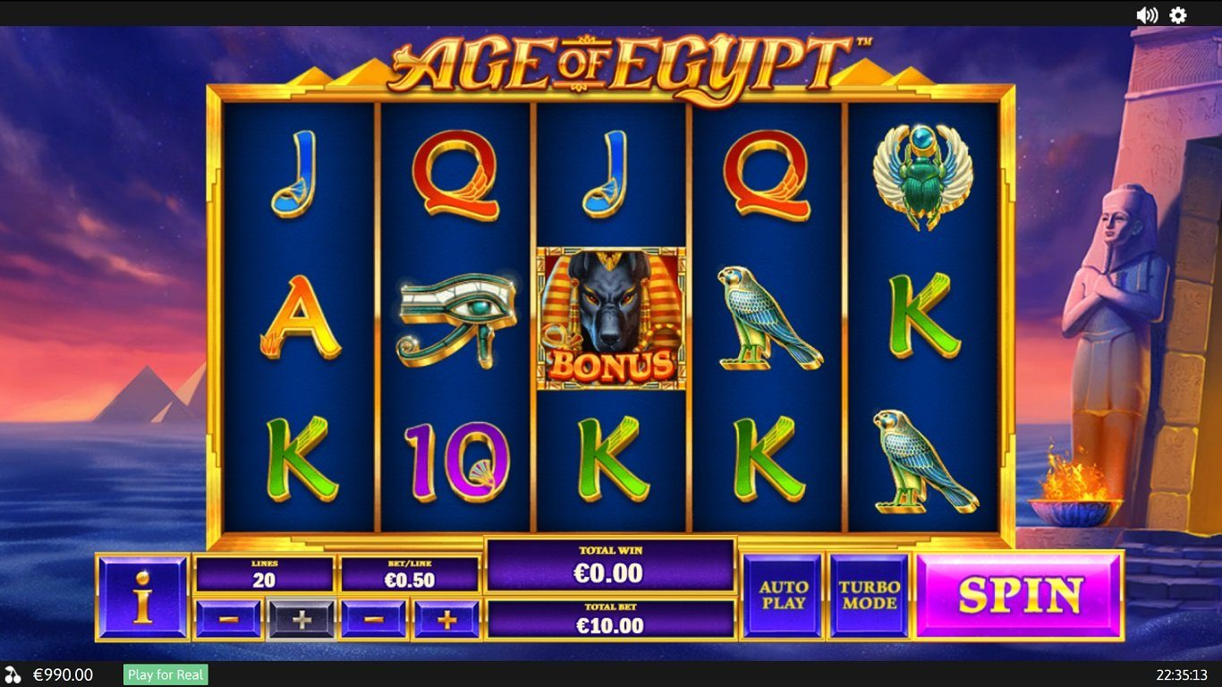 Age Of Egypt slot