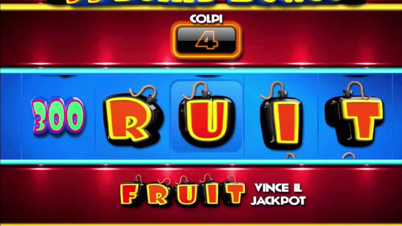 Bomber Fruit slot