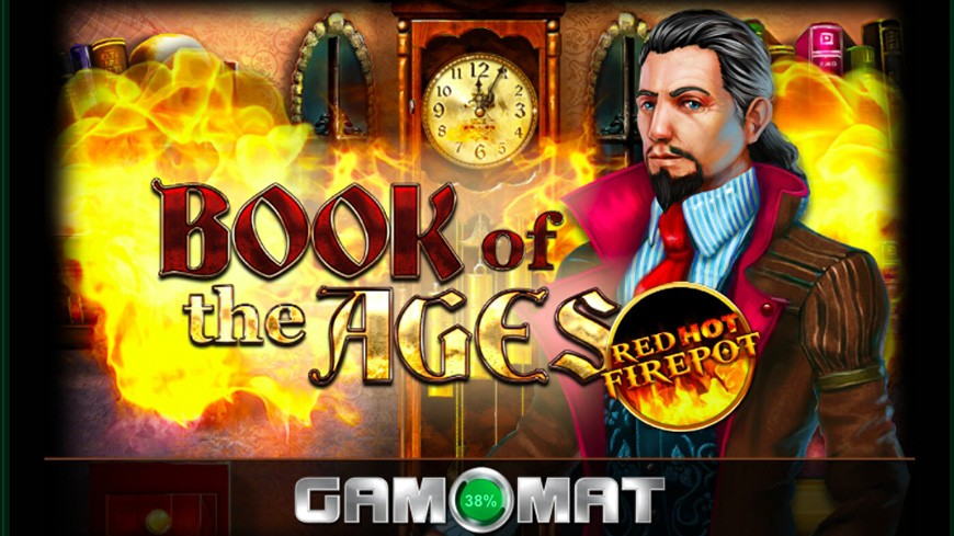 Book Of The Ages Red Hot Firepot Slot