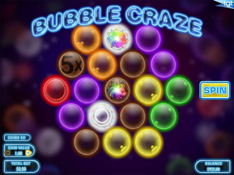 Bubble Craze Slot