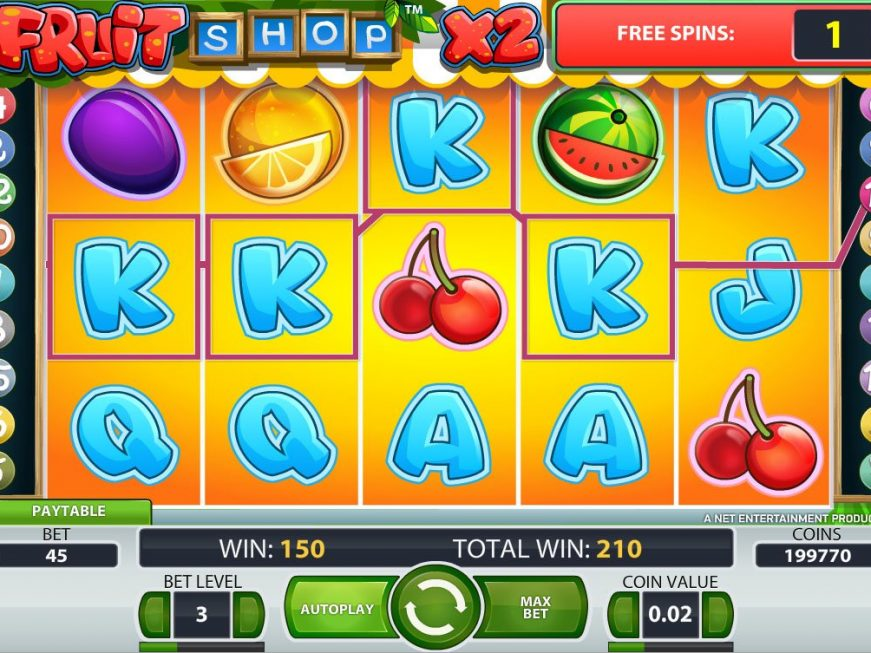 Fruit Shop Slot Machine Play Free Online Slots