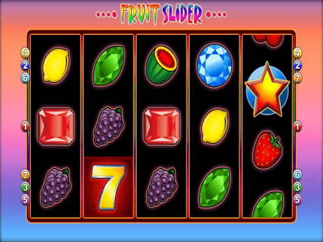 Fruit Slider Slot