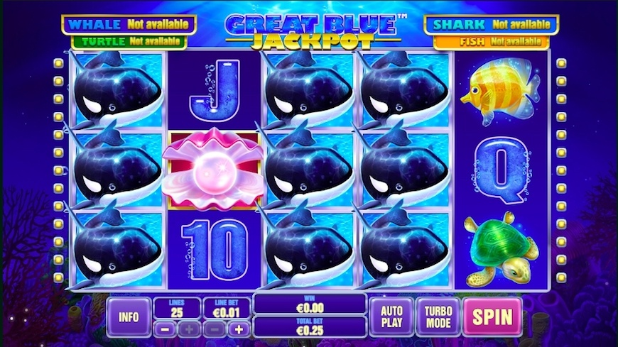 Great Blue Jackpot Slot