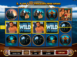Jason and the Golden Fleece slot