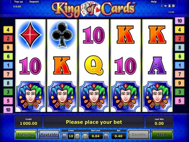 King Of Cards Slot Machine
