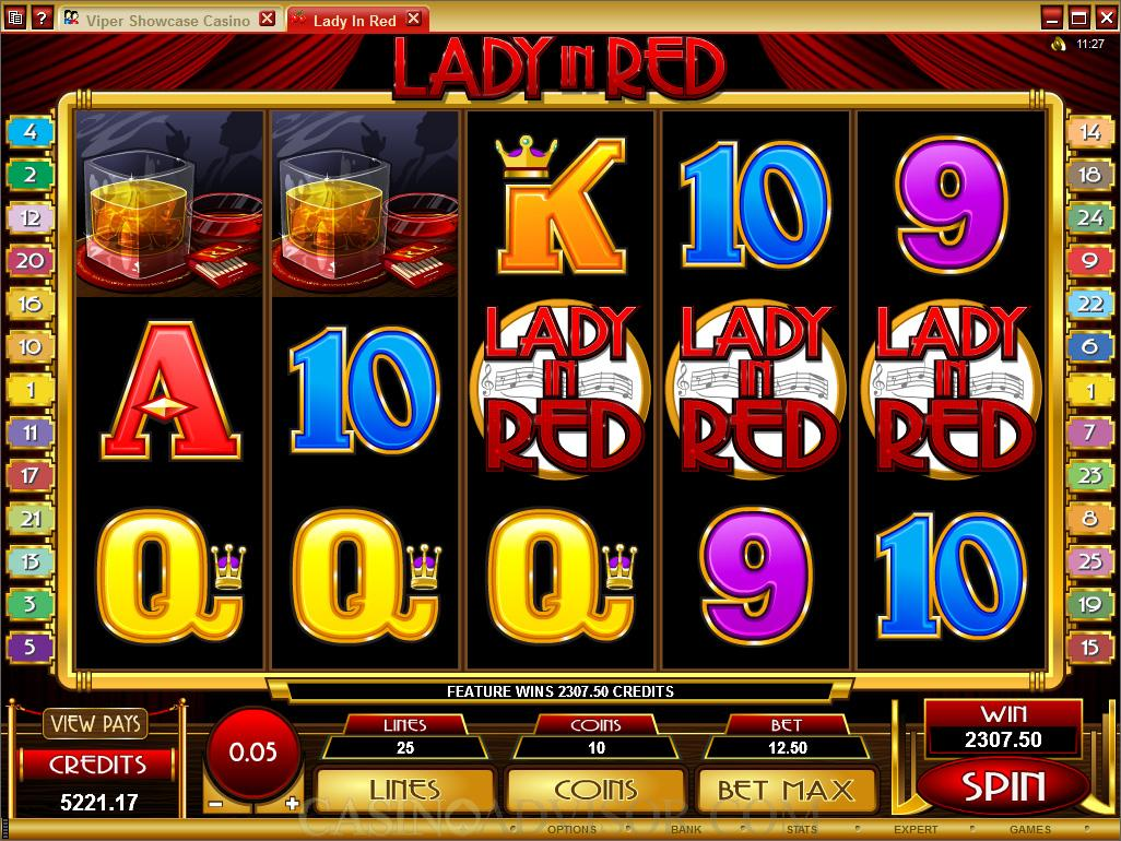 Spiele Lady In Red - Video Slots Online