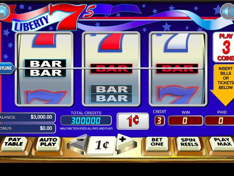 Liberty 7's Slot