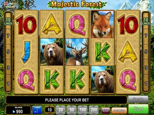 Majestic Forest Slot