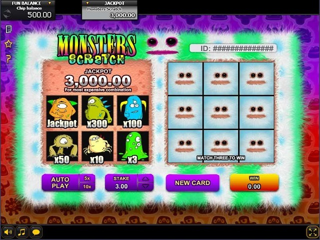 Teddy Scratch Slots Machine