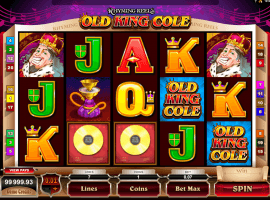 Rhyming Reels Old King Cole slot