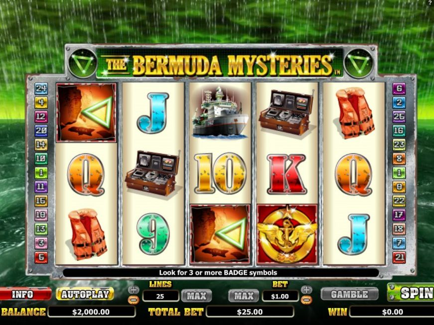 The Bermuda Mysteries slot