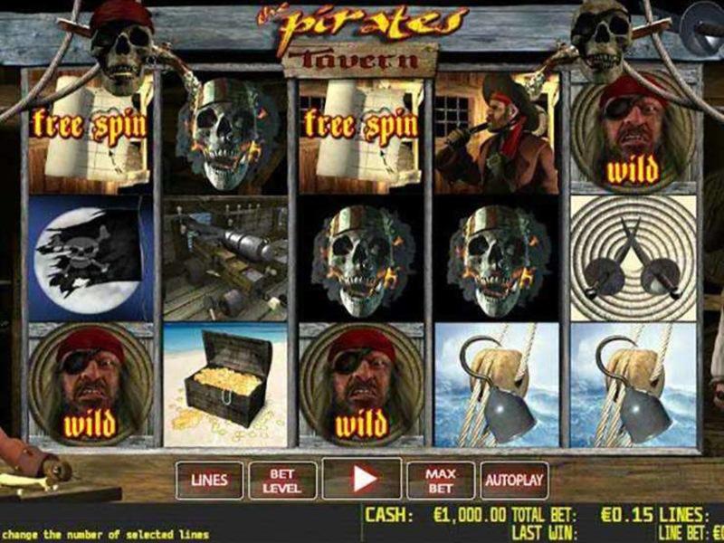 The Pirates Tavern Slot