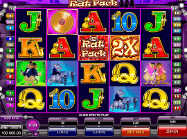 The Rat Pack slot