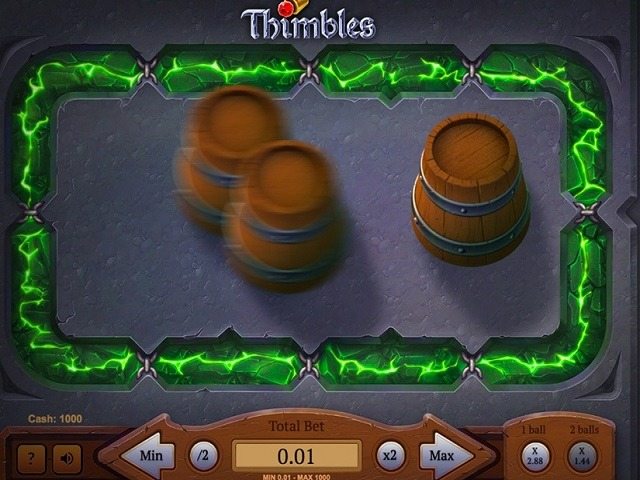 Play Thimbles for Free
