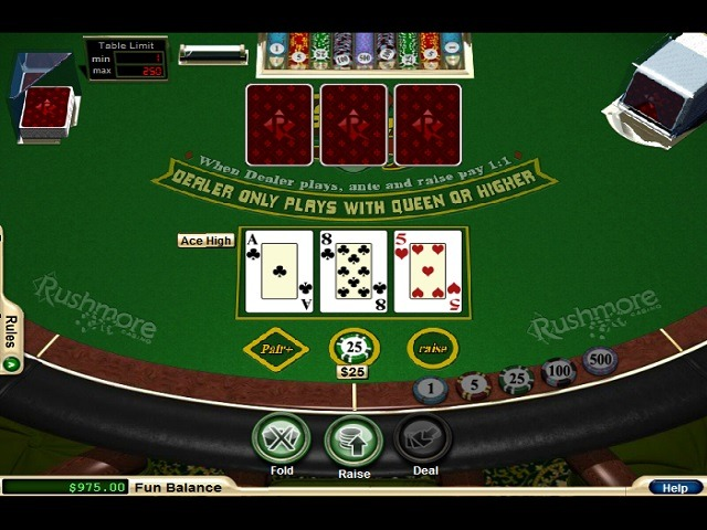 Three Card Poker Slot Machine - Play Free Bally slots