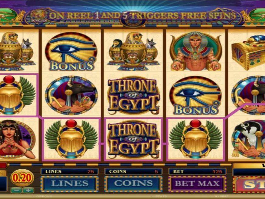 Throne of Egypt slot