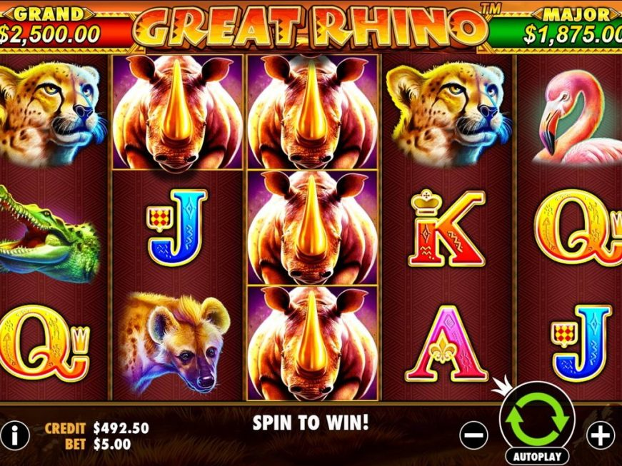 Great Rhino Slot Online