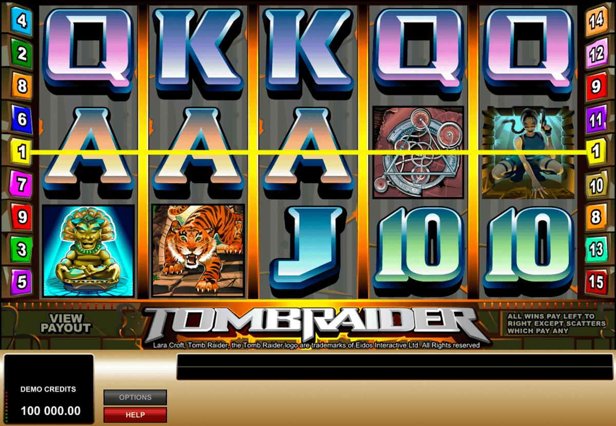 Tomb Rider (Microgaming)